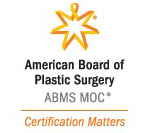Dr. Bonness is certified by the American Board of Plastic Surgery